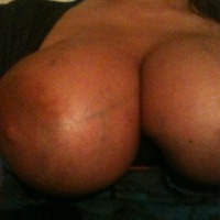 Extremely large tits of a neighbor - Fun Neighbor