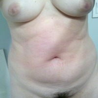 Medium tits of my wife - Kelly