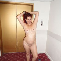 London Hotel - Exposed In Public, Nude In Public