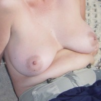 Medium tits of a co-worker - Dorin