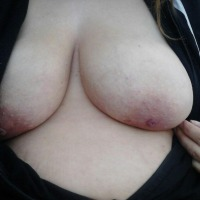 Very large tits of my ex-girlfriend - LA