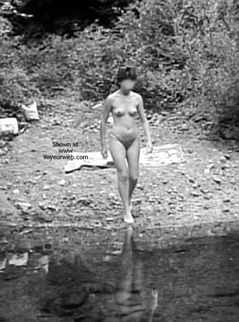 Pic #1 - Rosy At The River Ii – Italy 1983 (B/W)