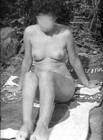 Pic #6 - Rosy At The River Ii – Italy 1983 (B/W)