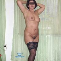 Home Strip - Brunette, Lingerie, Striptease