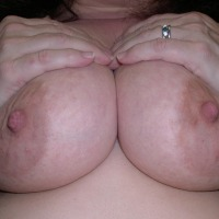 Large tits of my wife - JM