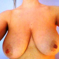 Very large tits of my girlfriend - ...aly...