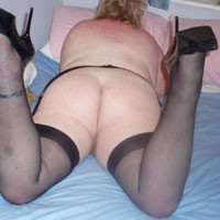Stockings Slut - High Heels Amateurs, Lingerie