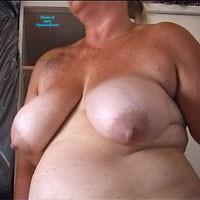Weisse, Fette Hängebrüste - Big Tits