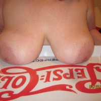 Large tits of my wife - di