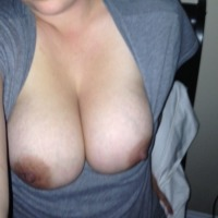 Very large tits of my wife - Caitlin