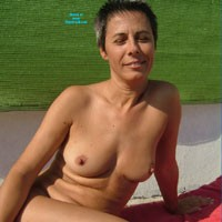 Mature Wife - Beach, Brunette, Mature
