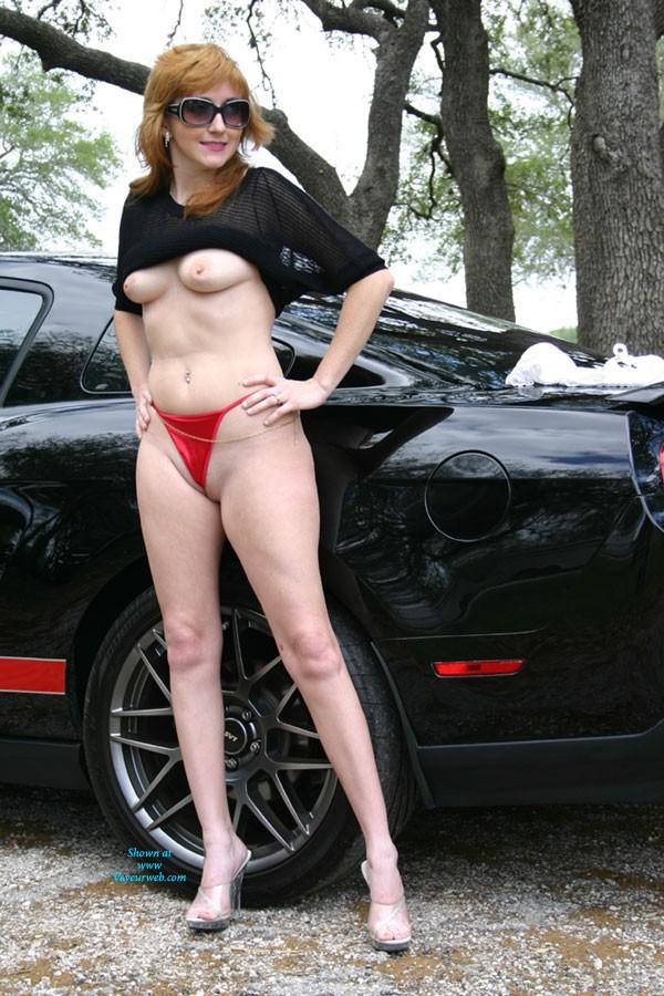 Pic #3 - Want a Joy Ride? - Redhead