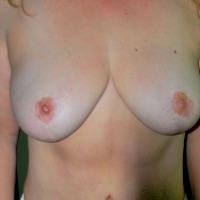 Large tits of my girlfriend - All Mine