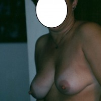 Large tits of a co-worker - Geri