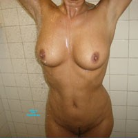 Shower Time - Big Tits, Wet