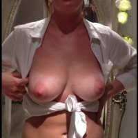Large tits of a co-worker - vanessa