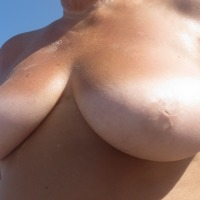 Large tits of my wife - Ms B