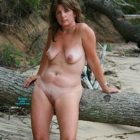 Day at The Beach 2 - Beach, Big Tits, Brunette