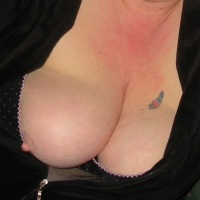 Large tits of my wife - Tits