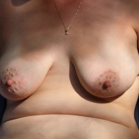 Large tits of my wife - Luv2