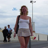 A Walk in Public - Blonde, Public Exhibitionist, Public Place