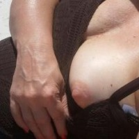 Medium tits of a co-worker - jan