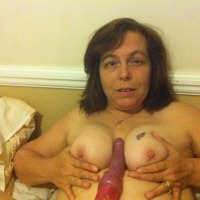 Medium tits of my wife - donna