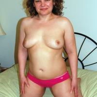 Medium tits of my girlfriend - Erika
