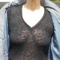 Medium tits of my girlfriend - betty b
