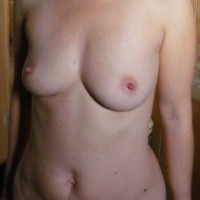 Small tits of my wife - Megan