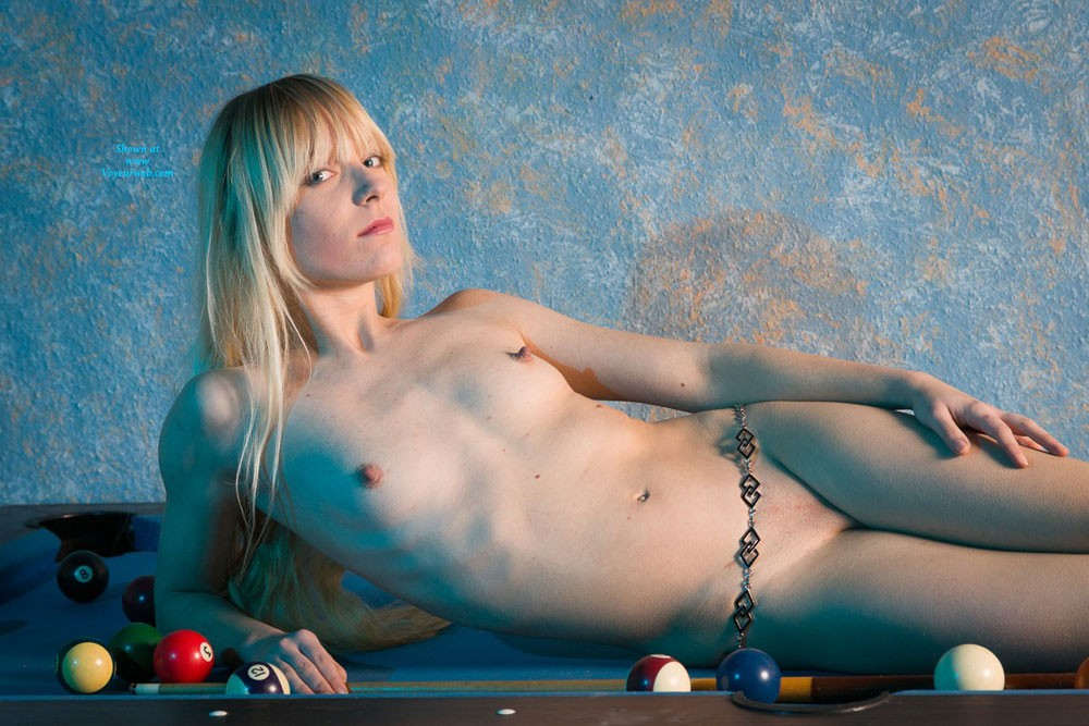 Pic #1 - Billard Part Two - Blonde Hair , Some More Pictures With Patricia On The Billard Table