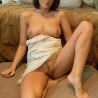 Small tits of a neighbor - Town Whore