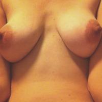 Medium tits of my wife - mandy