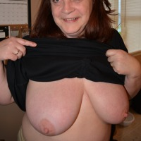Large tits of my wife - Lorree