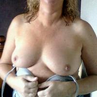 Medium tits of my wife - denise