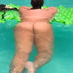 Memorial Day Swim - Brunette