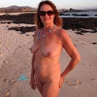 Debbie - Beach, Big Tits