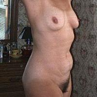 Medium tits of my wife - Bare1