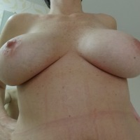 Very large tits of my girlfriend - C C