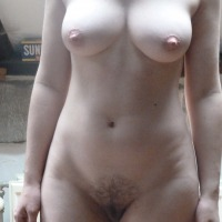 Large tits of my wife - Janis