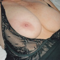 Extremely large tits of my girlfriend - bitch