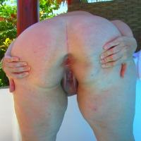 My wife's ass - Curvy Girl