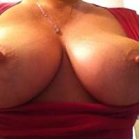 Very large tits of my girlfriend - MsMn