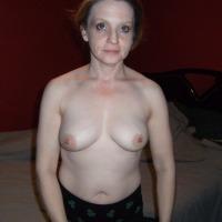 Medium tits of my girlfriend - Judy