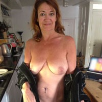 Debbie - Big Tits, Brunette, Public Exhibitionist, Pussy, Shaved