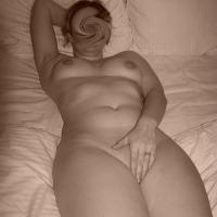 Medium tits of a neighbor - Marta
