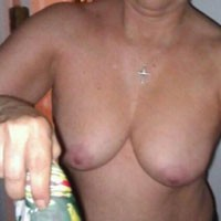 Shots of DW's Tits - Big Tits