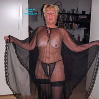 Chubby Mature - Blonde, Lingerie, Mature