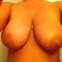 Extremely large tits of my wife - Saphhire6