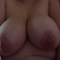 Very large tits of my girlfriend - Anne